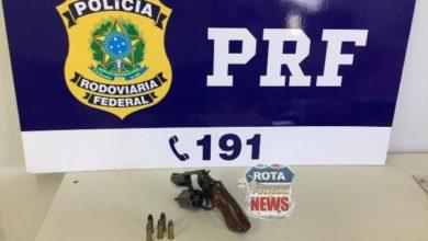 Photo of Motorista de picape Ranger é preso pela PRF portando arma de fogo ilegal