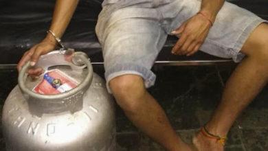 Photo of Homem danifica tornozeleira eletrônica da ex e é acusado de furtar botija de gás em Vilhena