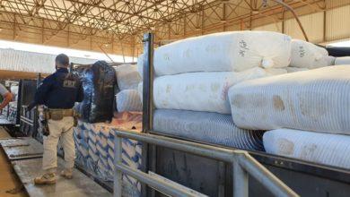 Foto de Em Vilhena, PRF apreende quase 6 mil peças de confecção transportadas ilegalmente