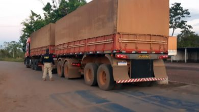 Foto de Caminhão Clonado, Estelionato e recaptura de foragido: Em Rondônia, PRF segue atuante
