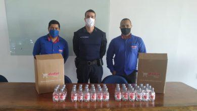 Foto de Dydyo refrigerantes doa álcool 70% para o 3º Batalhão de Polícia Militar
