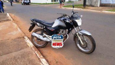 Photo of Motociclista e carona sofrem queda com moto no Jardim Eldorado