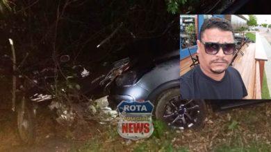 Foto de Segurança é vítima fatal de acidente na BR-364 entre Vilhena e São Lourenço