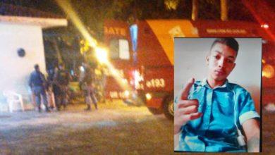 Foto de Motoboy é friamente assassinado em frente ao local de trabalho em Vilhena