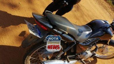 Foto de Polícia Militar recupera motocicleta furtada em Vilhena