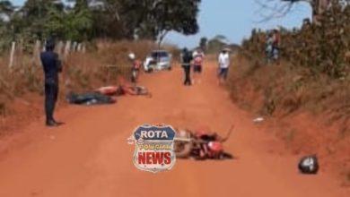 Foto de Acidente envolvendo motocicletas deixa vítima fatal em Cabixi