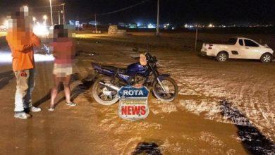Foto de Motociclista embriagado e inabilitado avança sobre local de acidente e acaba preso pela PRF em Vilhena