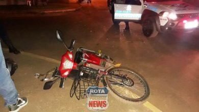 Photo of Motorista atropela ciclista, foge do local e moradores fazem a mãe do suspeito retornar ao local com o carro