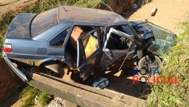 Foto de Motorista passa direto e tomba em galeria de esgoto da avenida Brigadeiro Eduardo Gomes