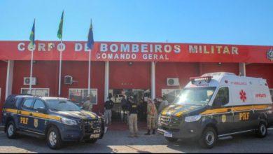 Photo of PRF realiza acordo de cooperação técnica e também doação de viaturas ao Corpo de Bombeiros