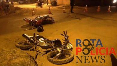 Photo of Colisão entre motocicletas deixa feridos na avenida Perimetral