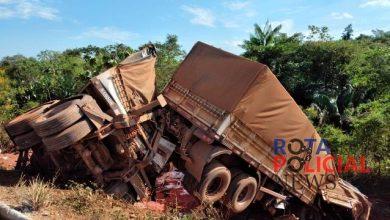 Foto de Tragédia: vilhenense morrem em acidente de trânsito entre carretas no Pará