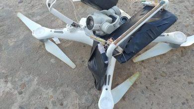 Foto de Drone é abatido a tiros ao tentar jogar celular e droga dentro de presídio em RO