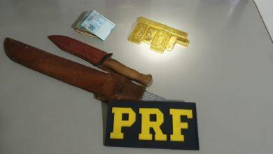 Foto de PRF apreende mais de meio milhão de reais em ouro