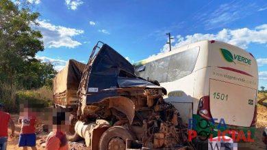 Photo of Carreta com placas de Cacoal se envolve em acidente com ônibus que deixou vítimas fatais no Pará