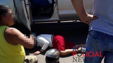 Photo of Colisão entre camionete e motocicleta deixa uma pessoa ferida em Vilhena