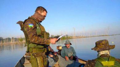 Foto de RO: Batalhão de Polícia Ambiental realiza fiscalização para combater pesca clandestina