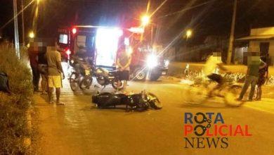 Foto de Motociclista embriagado provoca acidente após atingir moto de entregador em Vilhena