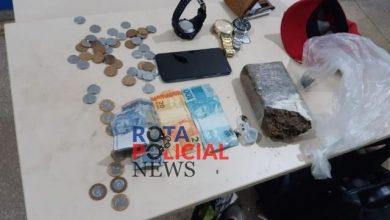 Foto de Não embarcou: Rapaz é preso com drogas e relógios ao tentar sair de Vilhena