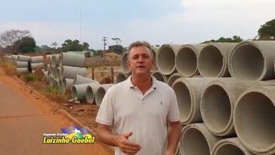 Foto de Luzinho Goebel beneficia município de Pimenta Bueno com manilhas de concreto e tubos armcos
