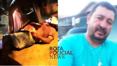 Foto de Homem morto com 12 disparos e Vilhena era condenado por matar acusado de executar sua filha