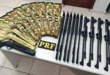 Foto de PRF apreende 11 carabinas de pressão em ação policial no estado de Rondônia