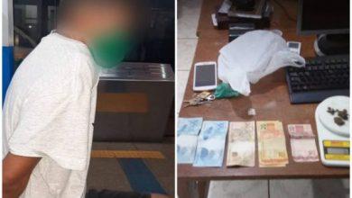 Foto de Homem residente em Cabixi é preso e confessa que levaria drogas de Vilhena para Cerejeiras