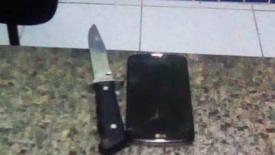 Foto de Ladrão armado com faca rouba celular de funcionária de posto de Vilhena mas acaba preso
