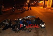 Foto de Motociclista sofre ferimentos após acidente entre motos no residencial União em Vilhena