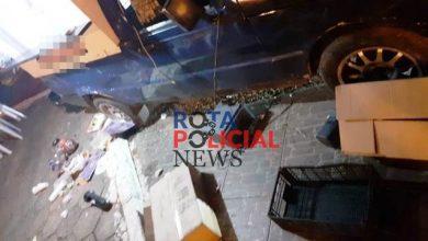 Foto de Motorista de carreta atinge carro de lanches que estava estacionado em Vilhena