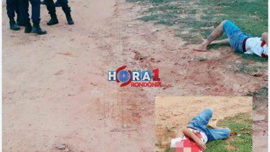 Foto de Ex presidiário é executado com vários tiros em Ji-Paraná