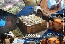Foto de Ação conjunta de forças policiais apreende 1 tonelada de cocaína avaliada em R$ 26 milhões; carro e droga vêm para Vilhena