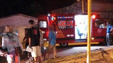 Foto de Ciclista apresenta sinais de possível traumatismo craniano após grave acidente em Vilhena