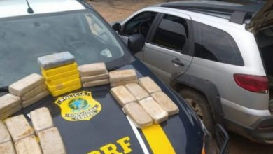 Foto de PRF intercepta carregamento de 29 quilos de cocaína em RO