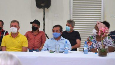 Foto de Luizinho Goebel participa de reuniões, passeatas e inauguração de Comitê em municípios rondonienses