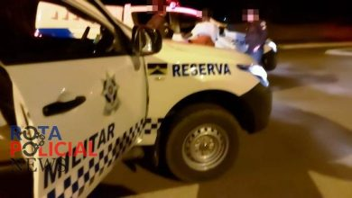 Foto de Repórter flagra dupla com faca em ciclovia e aciona a Polícia Militar em Vilhena; um deles correu