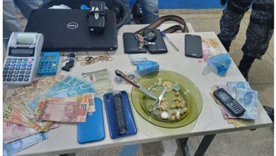 Foto de Em Vilhena, policiais prendem suspeitos de tráfico de drogas